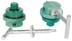 "Vestil DTL-22 Polycarbonate Drum Lock and Thread Diameter - Size: 2""-3/4"""