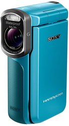 Sony 20.4MP Waterproof Handycam Camcorder - Blue (HDR-GW77V/L)