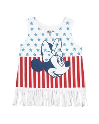 Disney Baby Girl's Minnie Mouse Tank Top - White - Size: 12 Months