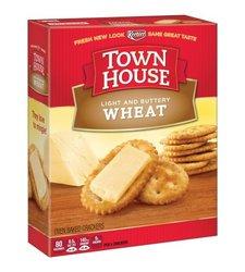 Keebler  Town House  Wheat Crackers 13.8 oz. Box