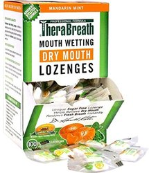 Therabreath Mandarin Mint Dry Mouth Lozenges 3, 100