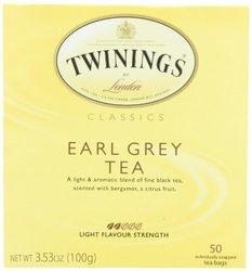 6 Pack Twinings of London Classics Earl Grey Tea - 50 Count