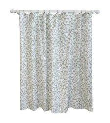 "Pillowfort 72"" x 72"" Floral Print Shower Curtain - Gray"
