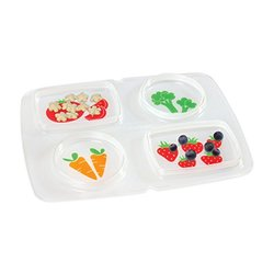 Gerber Graduates 100% Silicone MealMat with Case