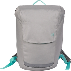 Durban Unisex Bicycle Backpack with Removable Laptop Case - Grey
