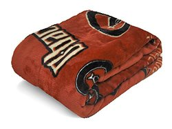 "MLB Royal Plush Throw Blanket - Dodgers - Size: 50"" x 60"""