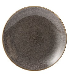 Threshold Belmont Stoneware Reactive Dinner Plate Set of 4 - Grey