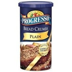 PROGRESSO BREADCRUMB PLAIN-15 OZ -Pack of 6