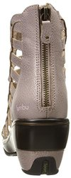 Jambu Women's Brookline Wedge Sandal, Champagne, 10 M US