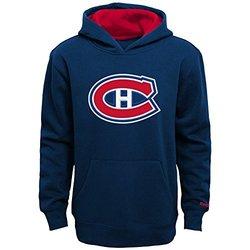 Reebok Boy's NHL Montreal Canadiens Basic Hoodie - Navy - Size: Large