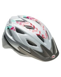 Bell Unisex Blade Bicycle Helmet - Green/Pink