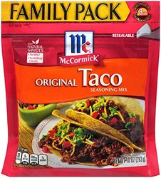 McCormick Taco Mix Original Family Pack 10 Oz. Pouch
