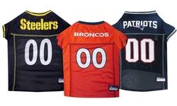 NFL AFC Pet Mesh Jerseys: New York Jets/XS