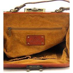Patricia Nash Women's Gracchi Framed Crossbody Handbag - Tan - Size: One