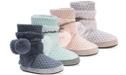 Muk Luks Women's Delanie Slippers - Pewter - Size: Large