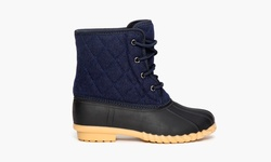 Sociology Women's Cold Weather Quilted Duck Boot - Navy - Size: 10