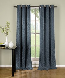 Blackout Grommet Pair Panels: Zayden/Blue