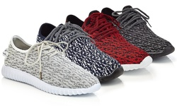Henry Ferrera Men's Sneakers: Red/12