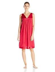 Vanity Fair Women's Coloratura Nightgown - Cherries-Jubilee