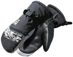 Les Stroud 14-9-3105-M Heavy-Duty Sport Lined Mitt Glove, Medium