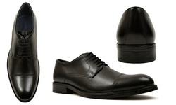 Joseph Abboud Men's Dress Shoes - Black - Size: 9