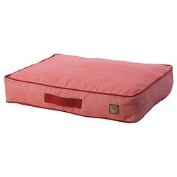 One for Pets Siesta Indoor/Outdoor Dog Bed Pet Bed - Red - Size: Medium