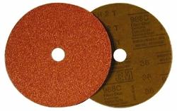 """3M Fibre Disc 988C Ceramic Grain 24 Grit - Brown - Size: 7"""""""
