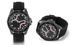 Oak & Rush Automobile Inspired Sports Watch - Black Band