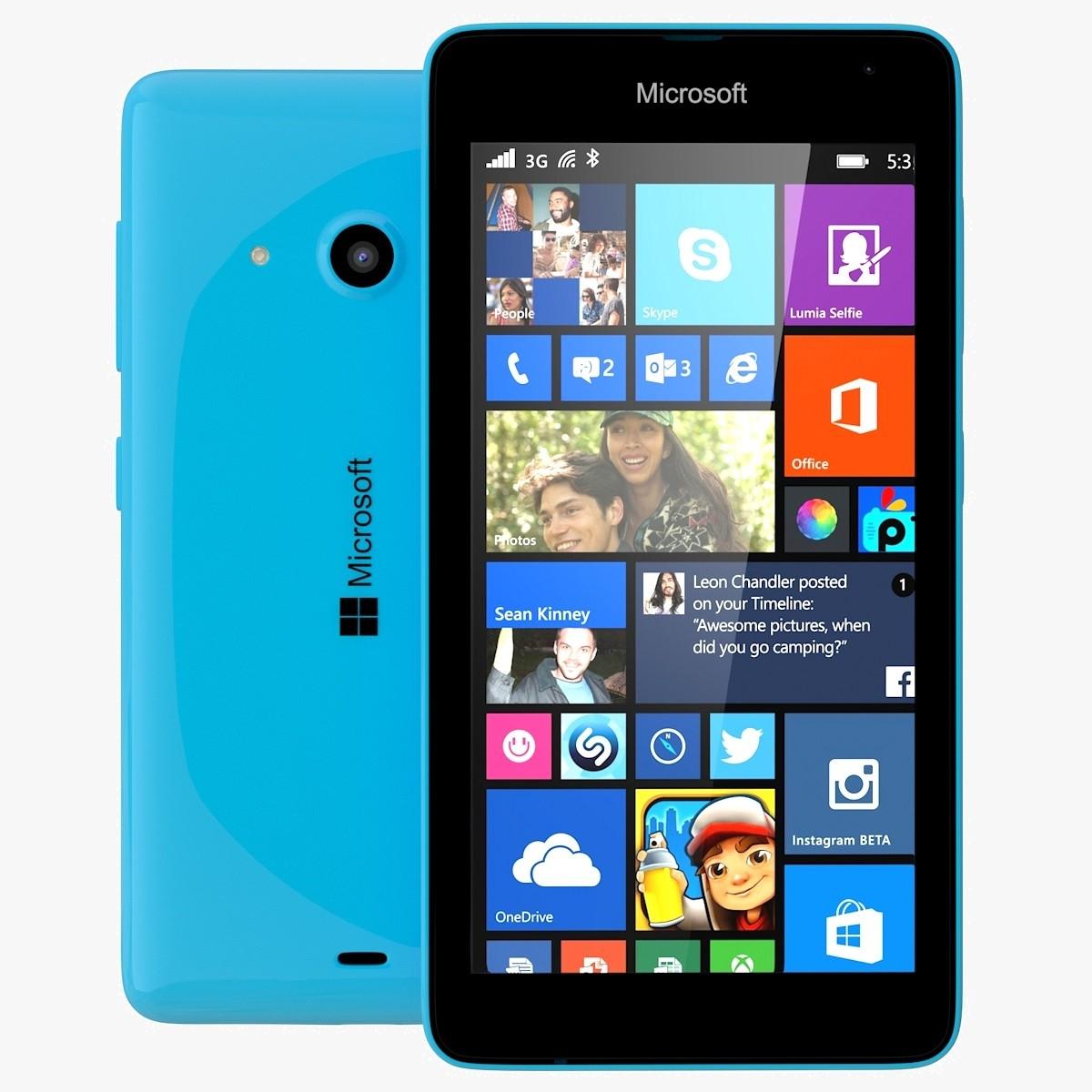 Unlocked Microsoft Lumia 535 8GB Window Smartphone - Cyan Blue (RM-1092) -  Check Back Soon - BLINQ