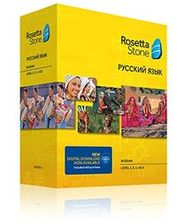 Rosetta Stone Version 4 TOTALe: Russian Level 1 - 5 Set - Mac Windows