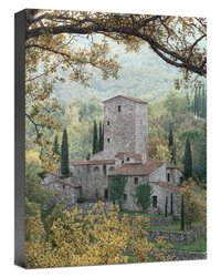 Somerset Fine Art Tuscan Tower Artwork in Canvas