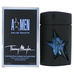 Thierry Mugler Men Rubber Flask Eau de Toilette - 3.4 Oz
