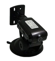 Mini Gadgets Car Camera with GPS Stand - Black