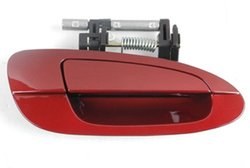 08 Nissan Altima Front Right Outside Door Handle - Sparkle Red - (B3782)