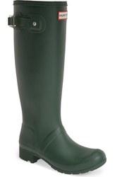 Hunter Women's Rain Boots - Tour/Green - Size: 5