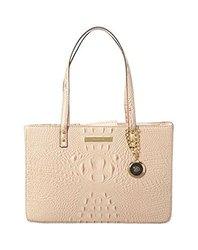 Anne Klein Pretty in Pink Top Handle Shoulder Handbag Tote - Light Rose