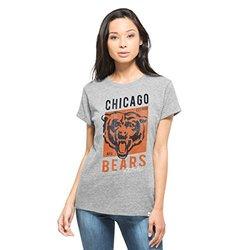 NFL Chicago Bears Women's '47 Hero Tee - Vintage Grey - Size: XL