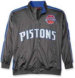 NBA Men's Reflective Track Jacket - Charcoal/Royal - Size: 3X