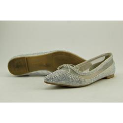 Bamboo Women's Ballet Flats - Silver - Size: 6.5
