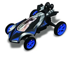 Race Tin Micro Stunt Racer - 1:32 Scale - Blue