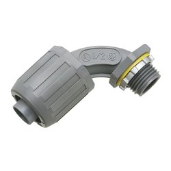 Arlington NMLT9075-5 90-Degree 3/4-Inch Non-Metallic Liquid-Tight Connector, 5-Pack