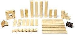 Tegu 42-Piece Magnetic Wooden Block Set - Natural