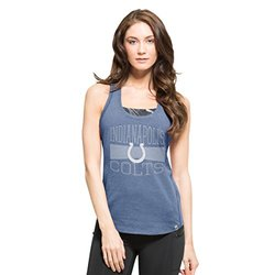 NFL Indianapolis Colts Women's '47 Forward High Point Tank Top, Shift Blue, Large