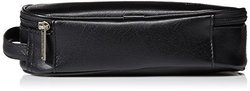 Kenneth Cole Men's Compact Travel Kit, Black, One Size