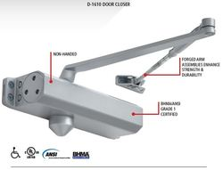 Stanley Door Closer with Sex Nuts Less Cover (D1610689)
