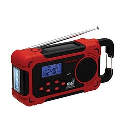 First Alert AM/FM Weather Band Radio with Weather Alert Red (FA1160)