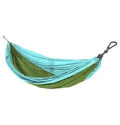 Eco Trekker Parachute Hammock - Turquoise/Lime