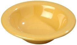 Carlisle  (4304222) 4-1/2 oz Melamine Durus Rimmed Fruit Bowl [Set of 48]