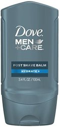 Dove Men+Care Hydrate + Post Shave Balm (Pack of 3.4 oz, 3