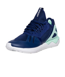 Adidas Women's Tubular Running Shoes - Nightsky/Frozen Green - Size: 7